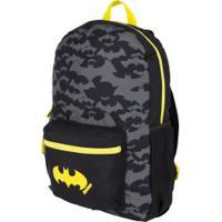 Mochila Infantil Liga Da Justiça Batman - Preto