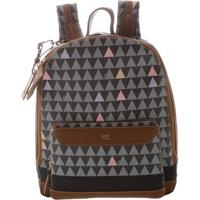Mochila Medium Triangle Black | Schutz