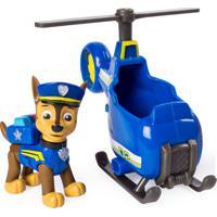 Mini Carrinho Patrulha Canina Resgate Ultimate Chase Helicopter