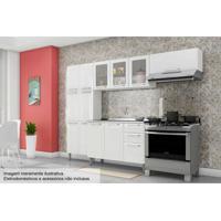 Cozinha Itatiaia Tarsila Aço 4 Peças Cz44 Branco