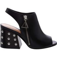 Open Boot Studs Black | Schutz