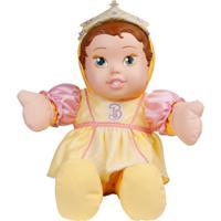 Boneca De Pano - Princesas Disney - Baby Bela - Mimo - Feminino-Incolor