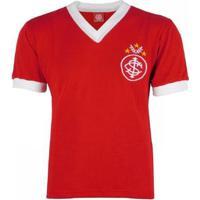 Camisa Internacional Retrô Falcão N°5 Masculina - Masculino-Vermelho+Branco