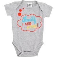 Body Bebê Lápis De Cor Com Silk Masculino - Masculino-Mescla