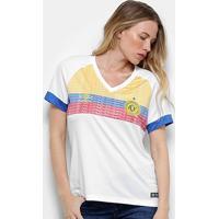 Camisa Chapecoense Ii 2018 S/N° La Pasion Torcedor Umbro Feminina - Feminino