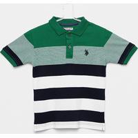 Camisa Polo Infantil U.S.Polo Assn Masculina - Masculino