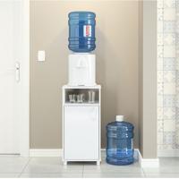 Balcão Para Cozinha Politorno 3012 Com Espaço Para Bebedouro – Branco
