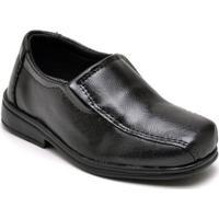 Sapato Social Infantil Dexshoes - Masculino-Preto
