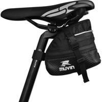 Bolsa De Selim Mtb Trail Para Bicicleta - Muvin - Bbk-300