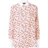 Polo Ralph Lauren Camisa Sakura Com Estampa - Branco
