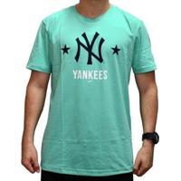 Camiseta New Era Versatile Neyyan Masculino - Masculino-Verde