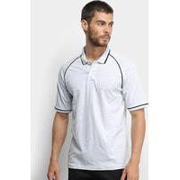 Camisa Polo Burn Masculina - Masculino-Mescla