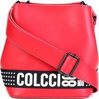 Bolsa Colcci Saco Bucket Sporting Feminina - Feminino-Vermelho