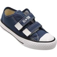 Tênis Infantil Converse All Star Ct Border 2 Velcros - Unissex-Marinho