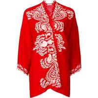 P.A.R.O.S.H. Kimono 'Coprispalle' - Vermelho