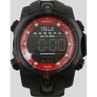 Relógio Cronógrafo Speedo Masculino - 11005G0Evnp1 Preto - Único