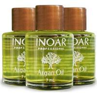 Inoar Argan Oil 7Ml Caixa /12Unidades - Unissex-Incolor