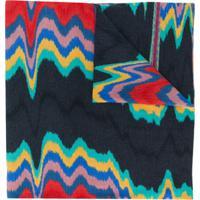 Missoni Echarpe De Lã Com Estampa Abstrata - Cinza