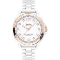 Relógio Coach Feminino Cerâmica Branca - 14502752