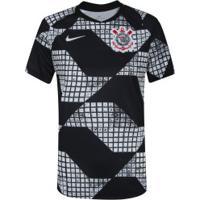 Camisa Do Corinthians Iv 2020 Nike - Feminina - Preto