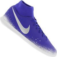 Chuteira Futsal Nike Phantom Vivsn Club Df Ic - Adulto - Azul/Branco