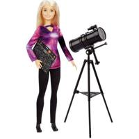 Boneca Barbie - Barbie National Geographic - Astrofísica - Mattel