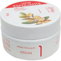 Creme Wu Esfoliante Extratos Naturais Óleo Argan Coquetel Nutrientes Remove Células Mortas 300G