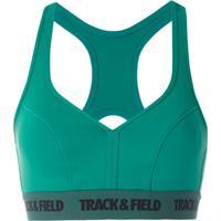 Track & Field Top Power Com Logo - Verde