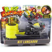 Veículo E Pista De Percurso - Bugs Racing - Lançador - Flyz - Dtc