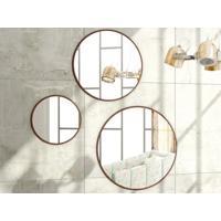 Combo De Espelhos Quartzo Havana - Líder Design