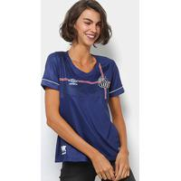 cb97832361 Netshoes  Camisa Santos 2018 S N° The Kingdom Torcedor Umbro Feminina -  Feminino