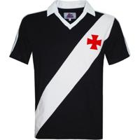 Camisa Polo Liga Retrô Vasco 1989 Masculina - Masculino