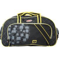 Bolsa Esportiva Wilson Wtis13779B Preto/Amarelo