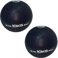 Bolas Medicine Slam Ball Para Crossfit 10 Kg - Liveup - Unissex