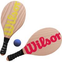 Kit Frescobol Wilson - Unissex