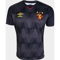 Camisa Sport Recife Iii 19/20 S/Nº Torcedor Umbro Masculina - Masculino