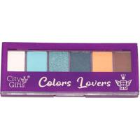 Paleta De Sombras Colors Lovers City Girls A B