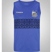 Camiseta Regata Do Santos 2017 Kappa Calvet - Masculina - Azul