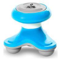 Mini Massageador Corporal Acte T150-Az, Cor: Azul, Tamanho: U