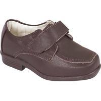 Sapato Tradicional Em Couro- Marrom Escuroprints Kids