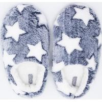 Pantufa Estampada Com Estrelas