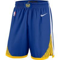 Shorts Nike Golden State Warriors Icon Edition Swingman Masculino