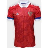 Camisa Seleção Rússia Home 20/21 S/N° Torcedor Adidas Masculina - Masculino
