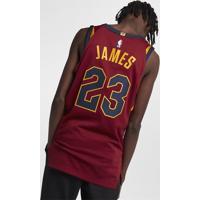 Camiseta Regata Nike Cleveland Cavaliers Icon Edition Authentic Mascul