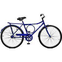 Bicicleta Master Bike Aro 26 Masculina Super Barra Contrapedal Azul