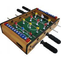 Mini Mesa Pebolim Futebol - Winmax - Wmg08962 - Unissex
