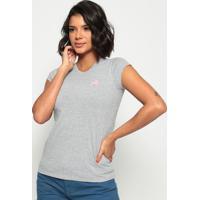 Camiseta Lisa- Cinza- Club Polo Collectionclub Polo Collection