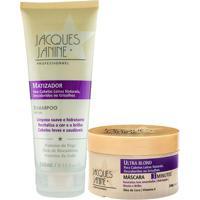 Kit De Shampoo Matizador & Mã¡Scara Ultra Blond- Jacques Jacques Janine