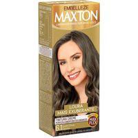 Tintura Creme Maxton 6.1 Louro Cinza Escuro Com 1 Unidade 1 Unidade