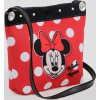 Bolsa Infantil Transversal Estampa Minnie Disney